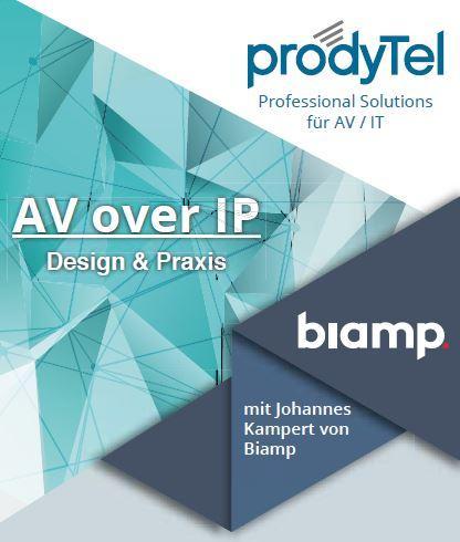 Seminar: AV over IP – Design- und Praxisworkshop am 11.04.2019