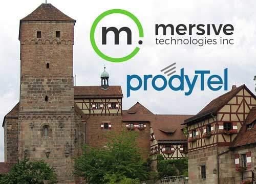 Solstice Engage – Vorführung der Kollaborationsplattform von Mersive in der prodyTel Akademie in Stein bei Nürnberg