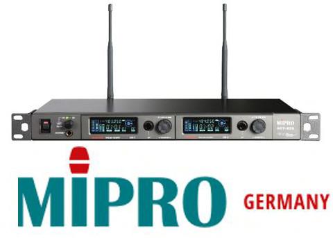 MIPRO – Drahtlose digitale UHF Mikrofontechnik auch mit AVB Schnittstelle