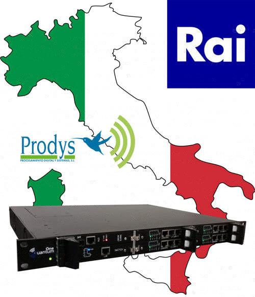RAI erneuert seine Audio-Codecs mit Quantum von Prodys