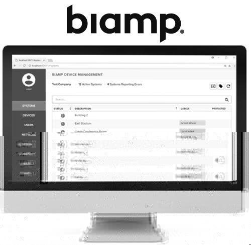 Biamp SageVue: Monitoring- und Management-Plattform mit verbesserter Unterstützung großer Systeme